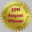 rds august 2011 winner