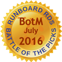 Runboard RDS Battle of the Pics BotM July 2016