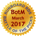 Runboard RDS Battle of the Pics BotM March 2017
